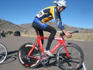 Alex Howard takes the line on his FLC provided Trek TTX.