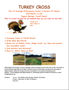 Pagosa Turkey Cross Flyer