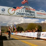 Grotts, the mtb xc national champ takes his first major road victory.