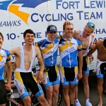 The Skyhawk Mens road team.