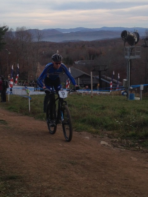 Stephan sitting solid in 3rd.