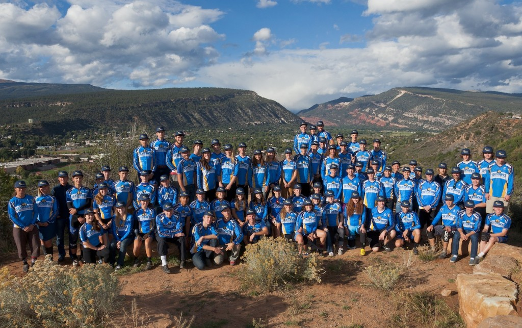 Fort Lewis College 2014 Cycling Team