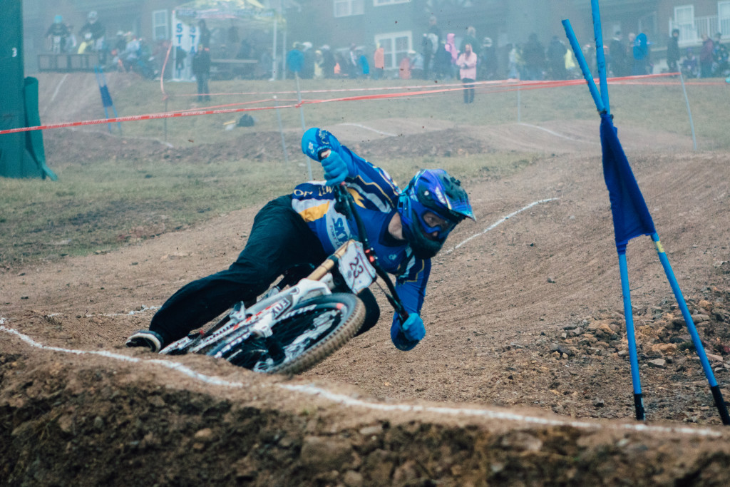 Graveson in the dual slalom finals!